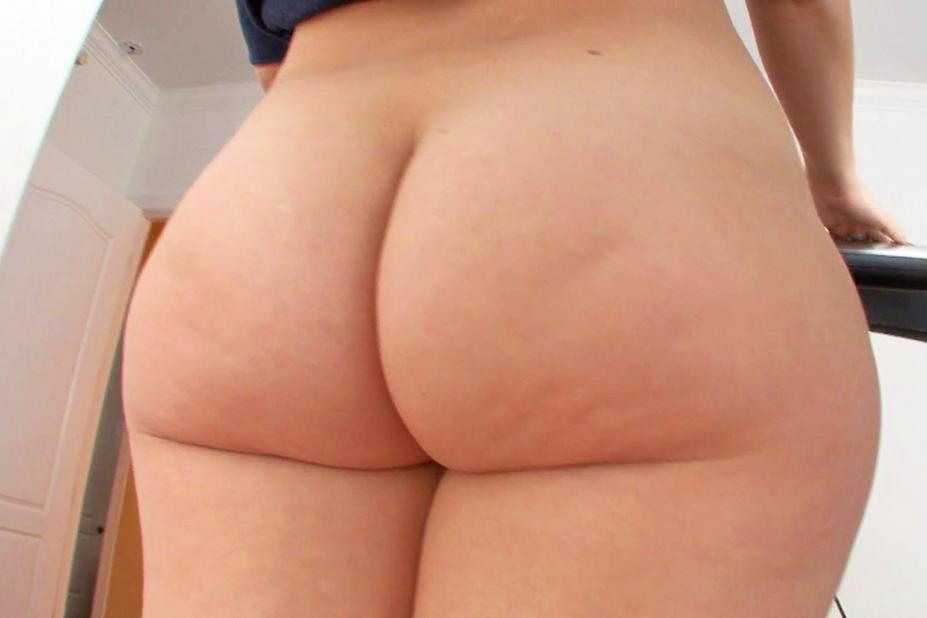 girl butts white