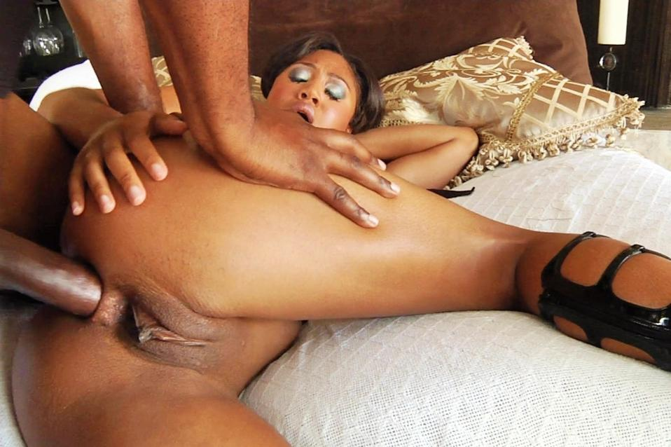 White man fucks african beauty in ass 8