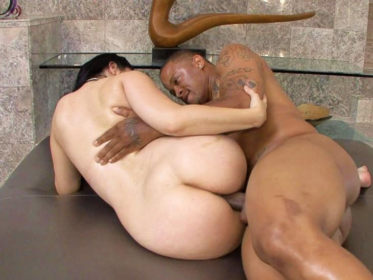 Black dick and white chick