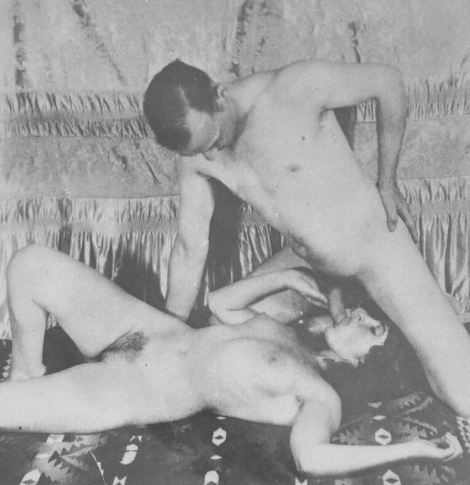 Nude vintage women shall